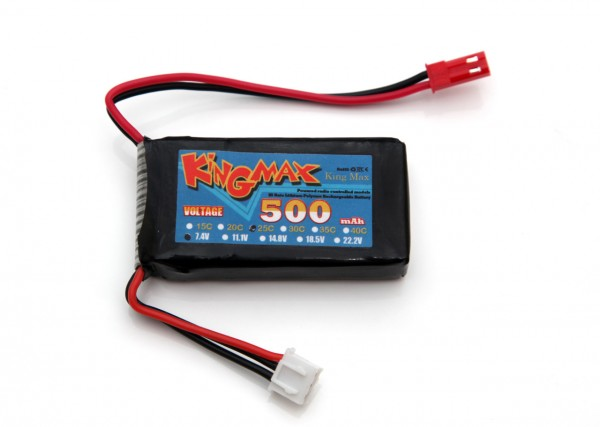 2s-7-4v-500-mah-kingmax-25c-lipo-battery