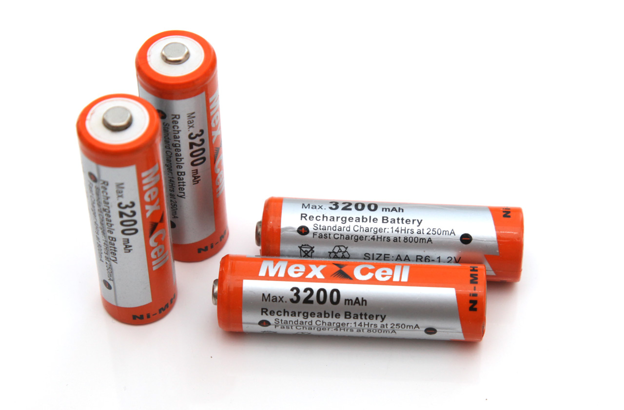 1 2v aa 3200 mah mex cell nimh battery tests. Black Bedroom Furniture Sets. Home Design Ideas