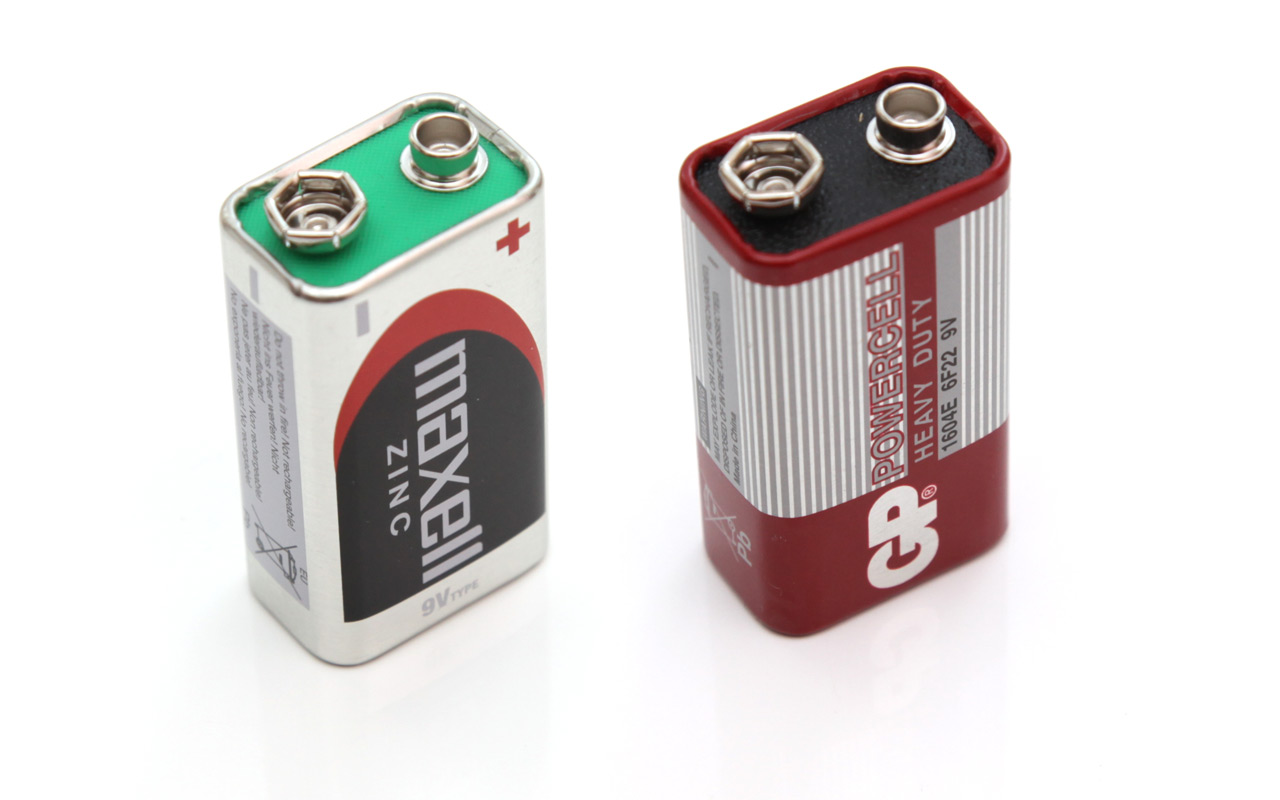 9v Expiring Carbon Zinc Batteries