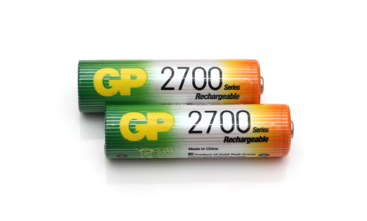 1 2v Aa 2700 Mah Gp Nimh Battery Tests Rightbattery Com