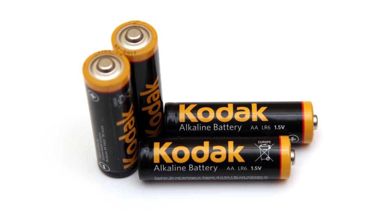 1 5v Aa Kodak Max Alkaline Battery Tests Rightbattery Com