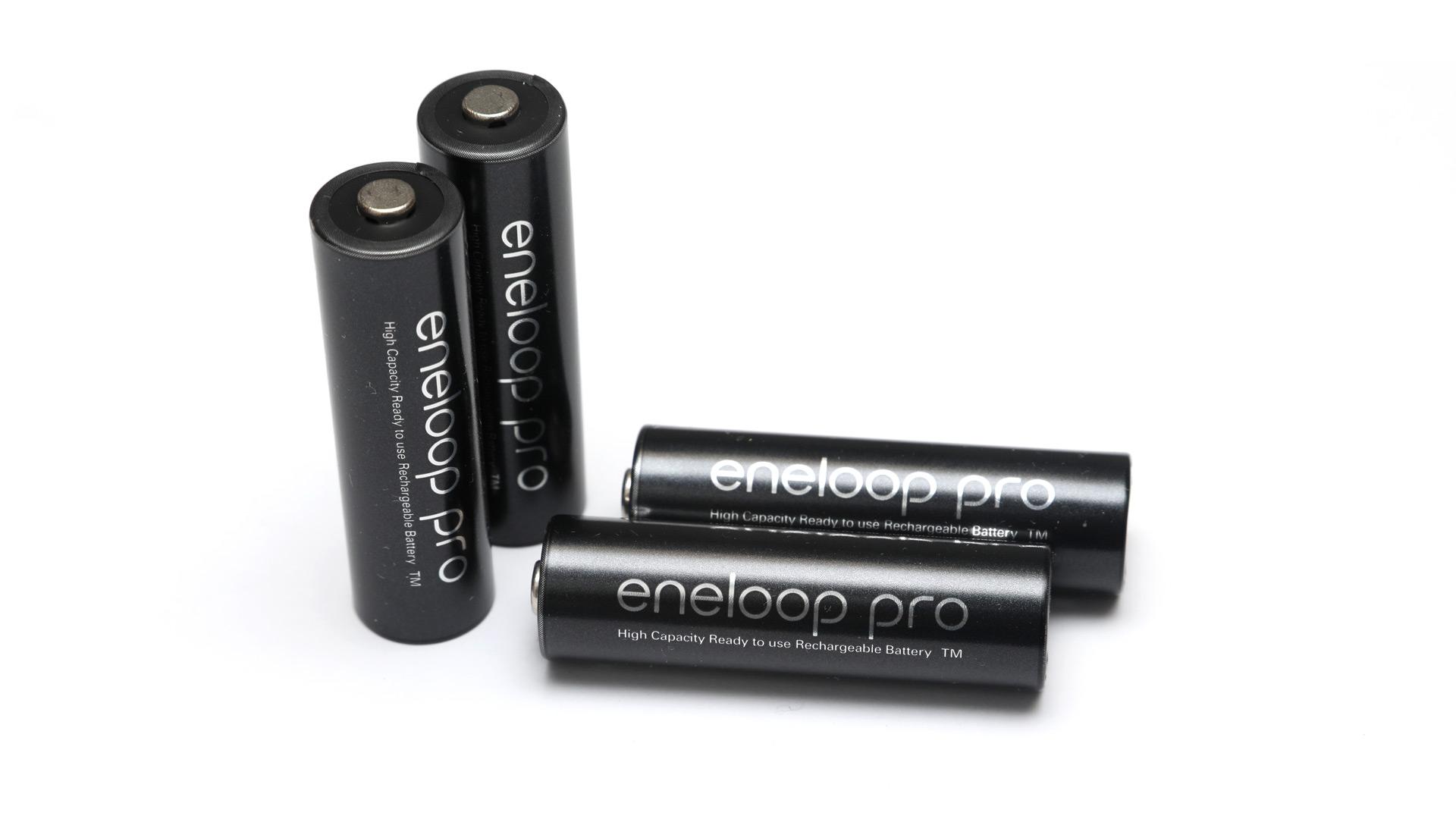 Eneloop Pro AA NiMH 2550mAh Min. 2450mAh Rechargeable Battery Pack of 2